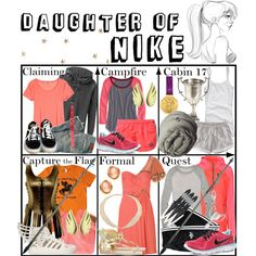 """Daughter of Nike ~ Wardrobe"" by liesle on Polyvore"