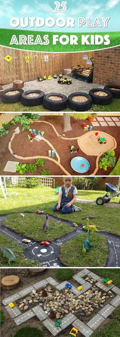25 Outdoor Play Areas For Kids Transforming Regular Backyards Into Playtime Paradises #4 and #7 would be fun