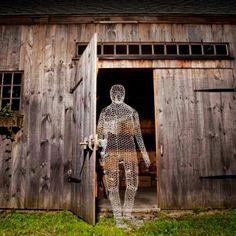 Funny cheesecloth Halloween ghost decoration that you should have at home in 2015 - LoveItSoMuch.com