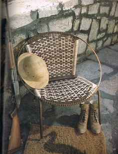 Macrame Chairs For Country Living Plaid 8313 by BusyBeaverBoutique