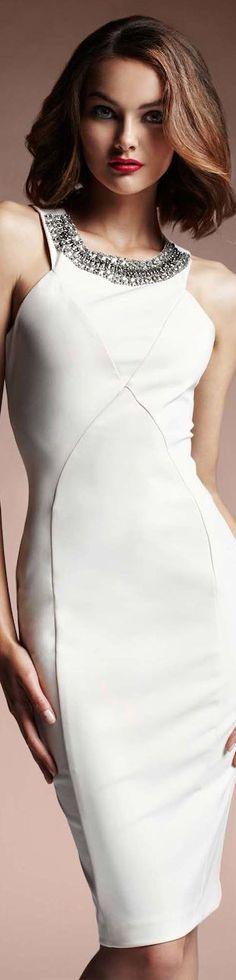Love Republic white cocktail dress | Fashion | Pinterest on Inspirationde