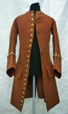 Suit jacket from a more formal day wear three piece suit. England circa 1750.   V&A Search the Collections