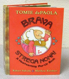 Teaching With Tomie dePaola Books Part 3: The Strega Nona Series Author review