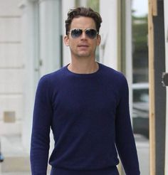 Matt Bomer Takes a Break From Filming 'Anything': Photo Matt Bomer keeps it casual in a sweater and jeans while out on a shopping trip on Monday afternoon (May in Beverly Hills, Calif. Sweaters And Jeans, Men Sweater, Matt Bomer White Collar, Victoria Secret Outfits, Attractive Men, Streetwear Fashion, Mens Fashion, Fashion Trends, Street Wear