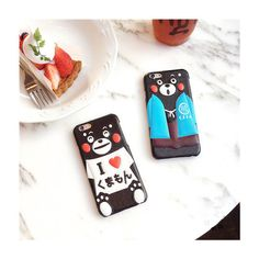 Cartoon Sommer 3D Kumamon Handyhülle für Iphone6/6s/6plus