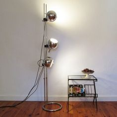 Located using retrostart.com > Floor Lamp by Unknown Designer for Unknown Manufacturer