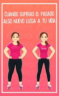 #ElMejorGym ¡Deja el pasado atrás y algo nuevo y mejor llegará a ti! ¡Algo nuevo llamado #Curves! 😉#fitness #motivación