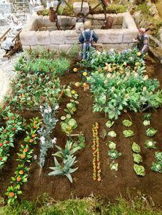 DIY Miniature Garden Hacks & Decoration - New ideas Miniature Crafts, Miniature Fairy Gardens, Jobs In Art, Fairy Garden Furniture, Mini Fairy Garden, Christmas Nativity Scene, Mini Plants, Trees To Plant, Garden Inspiration