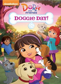 """#Giveaway: Win the DVD """"Dora and Friends: Doggie Day!"""" (Ends 9/11) #dora"""