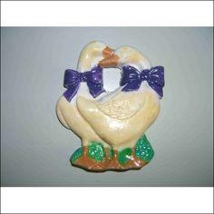 anatre in gesso decorate (colori ad olio) - $1,00€ - SuQui Shopping online!