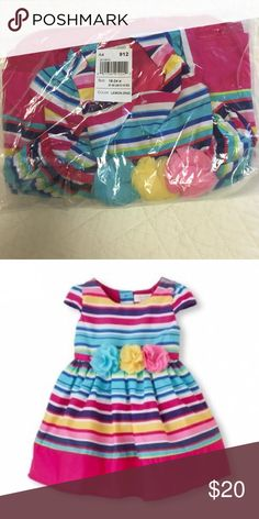 Children's' Place Lemon Zing Toddler Girl Dress Very pretty dress.  New in wrapping.  Never worn. Children's Place Dresses