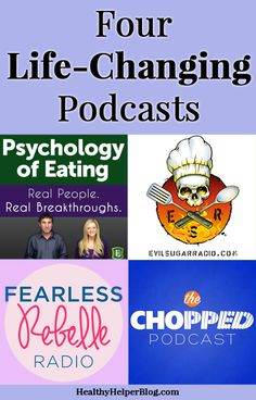 Four Life-Changing Podcasts Healthy Helper : Featured Post on Turn it up Tuesdays Boost Metabolism, Health Magazine, Ted Talks, Health Quotes, Health Motivation, Self Improvement, Self Help, Good To Know, Life Changing