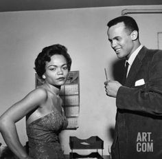 Eartha Kitt and Harry Belafonte!