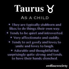 ZODIAC SIGNS AS A CHILD_Taurus_Zodiac Society