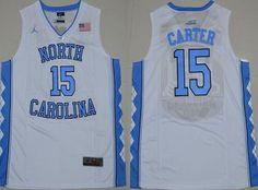 5425d564572 New North Carolina Tar Heels 11 Brice Johnson White College Jersey cheap  sale