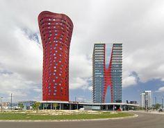 Torres Porta Fira, Barcelona. Design by Toyo Ito.