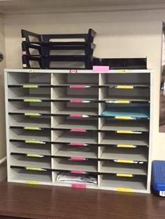 Organizational tips for the high school classroom
