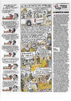 Pag 11 - Tutto il nr 1178 del 14 gennaio di Charlie Hebdo può essere scaricato liberamente da http://laduendes.blogspot.it/2015_01_01_archive.html