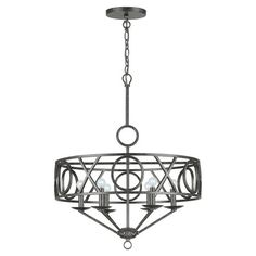 Found it at Wayfair - Odette Chandelier 6 Light in English Bronze
