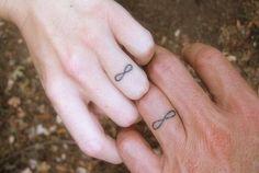 matching infinity tattoo! cute!