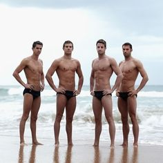 Australian Olympic Swim Team - Shirtless Wonders