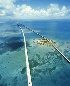 Twitter / HighFromAbove: Road through paradise ~ Florida ...