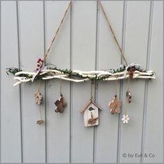 Fensterdeko ~ Jolies Fleurs ~ von Euli & Co auf DaWanda.com