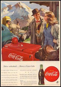 Vintage Coca-Cola / Coca Cola, Coke, #coca-cola