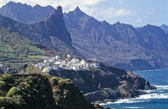 The road to Taganana, Tenerife in the Canary Islands in Spain. This little fishing village was so beautiful.