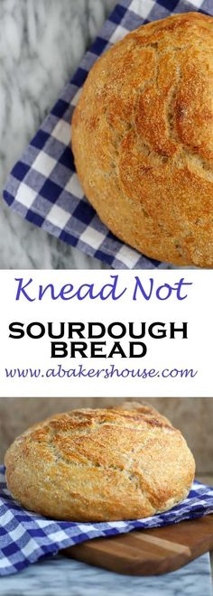 No fussing with kneading here with this Alton Brown recipe for Knead Not Sourdough Bread. Making homemade bread can be simple and accessible to even beginner bakers. Try this easy recipe for sourdough bread for baking success! Beef Recipes, Baking Recipes, Dessert Recipes, Easy Recipes, Recipies, Meatball Recipes, Recipes Dinner, Soup Recipes, Breakfast Recipes