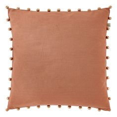 "Dutch Decor 45 x 45 cm ""Tota"" Cotton Cushion Cover, Copper: Amazon.co.uk: Kitchen & Home"