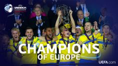 Sweden win their first Under-21 title. by; Ultred B.