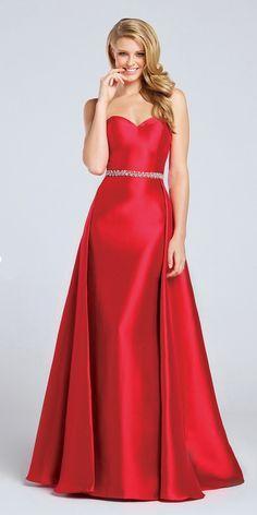 Ellie Wilde Strapless Formal Dress EW117051