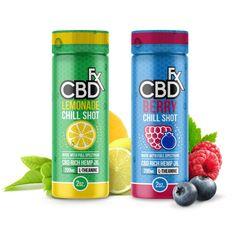 CBDfx Chill Shots Beverages - CBD Men's Lifestyle