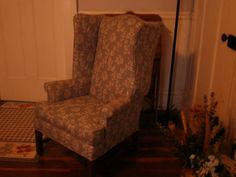 Wingback Chair for sale Chairs For Sale, Wingback Chair, Accent Chairs, Furniture, Home Decor, Upholstered Chairs, Homemade Home Decor, Wing Chair, Home Furniture