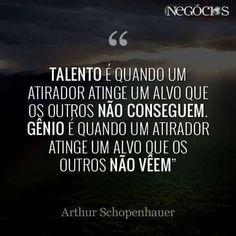 Talento x genialidade