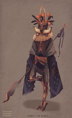 Aladdin / The Sorceror