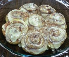Steam Baked Cinnamon Rolls (rice cooker)