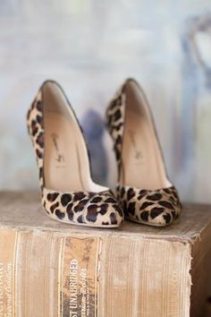 Panter pumps - so gorgeous!