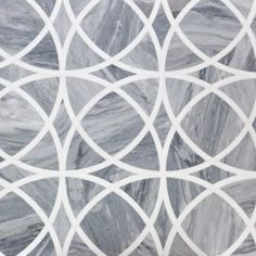 Celtic Bardiglio And Thassos Marble Tile | Tilebar.com