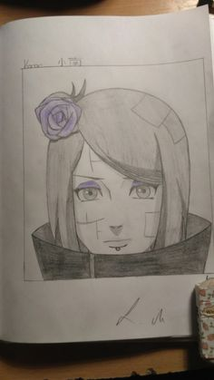 This is Konan from Naruto.