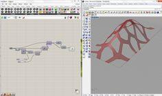 Voronoi on organic surface Data Architecture, Parametric Architecture, Parametric Design, Thor Marvel Movie, Parametrisches Design, Pavillion Design, Rhino Tutorial, Grasshopper Rhino, 3d Architect