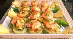Mom, What's For Dinner?: Mojito Shrimp Bites