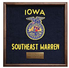 Frame your retired FFA jacket in this beautiful walnut deepbox frame. http://shop.ffa.org/walnut-jacket-display-frame-p41917.aspx