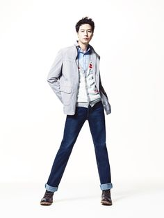 파크랜드 블로그 :: [파크랜드 Style] 조인성 화보 촬영_ 집업 점퍼 스타일 제안