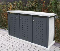 Storage Bins, Outdoor Furniture, Outdoor Decor, Exterior, Design, House, Organize, Home Decor, Garden
