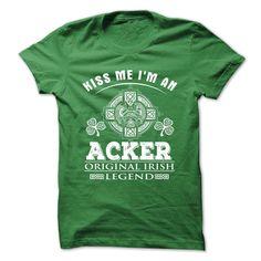 (Tshirt Awesome T-Shirt) 16 Kiss Me I Am ACKER Discount Best Hoodies Tees Shirts