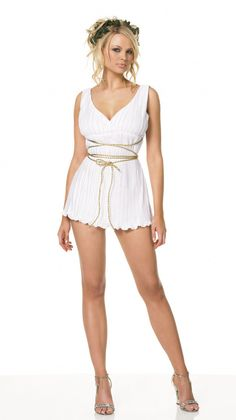 Greek Goddess Costume by Leg Avenue, Medieval babes, greek gods, and sexy warriors  #sparklingstrawberry #sexy #fun #fantasy #history #ancient #fancydress #fancydresscostume #costume
