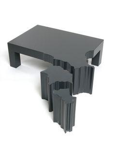 ♂ Unique black furniture design