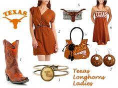 Texas Longhorns Game Day!